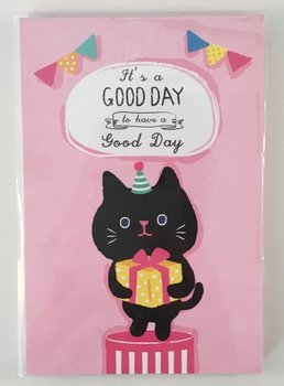 Good Day Medium Memopad | Birthday Cat