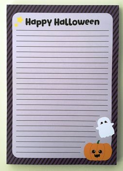 A5 Letter Paper Pad | Happy Halloween
