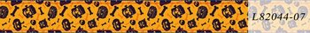 Halloween Washi Tape | Orange Bones and Pumpkins