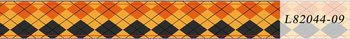 Halloween Washi Tape | Orange and Black Squared