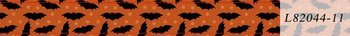 Halloween Washi Tape | Orange with Bats and Stars