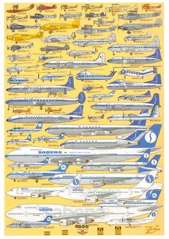 Postcard | Sabena (1923-2001)