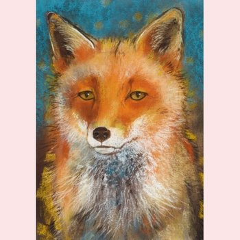 Postcard Loes Botman | Father Fox