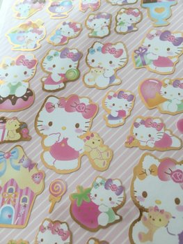 Sanrio Seal Sticker | Hello Kitty