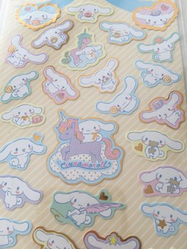 Sanrio Seal Sticker | Cinnamoroll