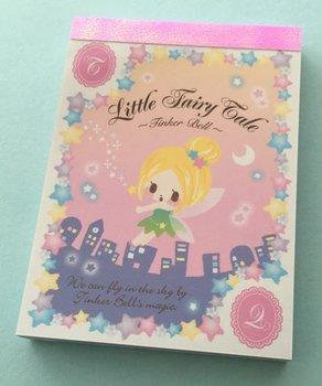 Q-Lia Mini Memo Pad Little Fairy Tale | Tinkerbell
