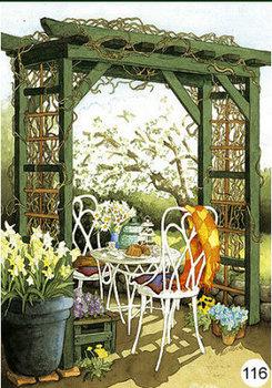 Inge Look Nr. 116 Postcards Garden | Pergola