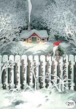 Inge Look Nr. 211 Postcards | Christmas