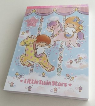 Sanrio Little Twin Stars Large Memo Pad