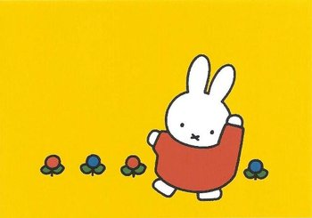 Nijntje Miffy Postcards | Nijntje danst