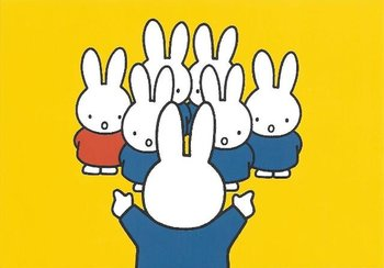 Nijntje Miffy Postcards | Zangkoor