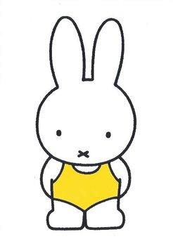 Nijntje Miffy Postcards | Nijntje in badpak
