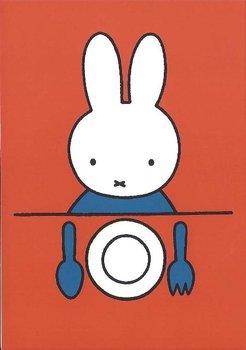 Nijntje Miffy Postcards | Nijntje aan tafel