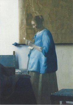 Museum Cards Postcard | Woman Reading a Letter