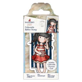 Gorjuss Collectable Mini Rubber Stamp - Santoro - No. 42 Summer Days