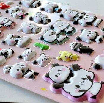 Puffy Seal Sticker   Panda