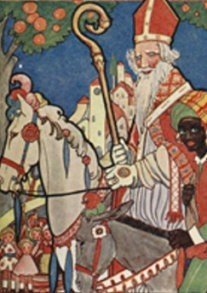 Postcard | Rie Cramer (1887-1977) - Sinterklaas
