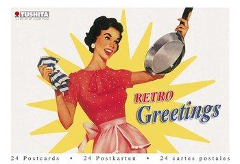 Tushita Postcard Book | Retro Greetings