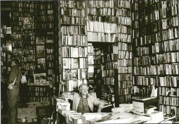 Postcard Gutrath Verlag | Old Bookshop