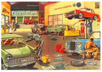 Postcard | Garage 1968