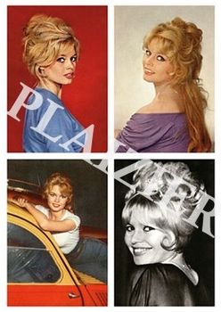 Postcard | Brigitte Bardot
