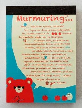 Q-Lia Mini Memo Pad  | Murmuring