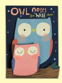 Rachel Ellen Designs Shaped Sticky Notes - Owl Notes