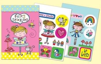 Rachel Ellen Designs Sticker Match Note Pads | STMNT10 Fairy Stickers