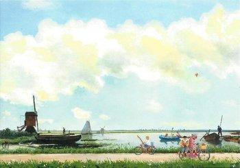 Gallery Cards Postcard | Charlotte Dematons - Holland op z'n mooist
