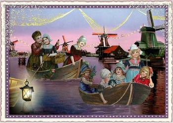 Postcard Edition Tausendschoen | Holland - Zaanse Schans