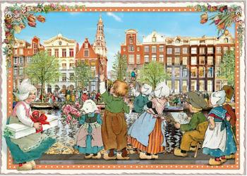 Postcard Edition Tausendschoen   Holland - Canals