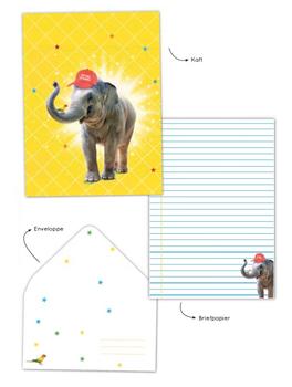 Writing Set Enfant Terrible   Elephant