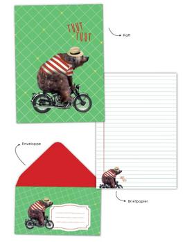 Writing Set Enfant Terrible   Bear