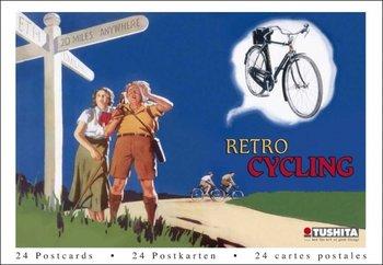 Tushita Postcard Book | Retro Cycling