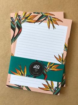 A5 Letter Paper Pad Illi | Litzia