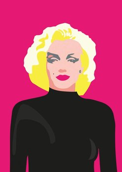 Pop Art Postcard | Marilyn Monroe