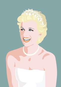 Pop Art Postcard | Lady Di