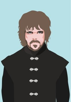 Pop Art Postcard | Games of Thrones - Tyrion Lannister