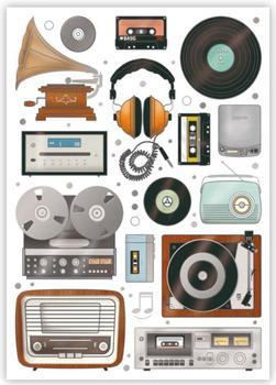Postcard | Retro Music