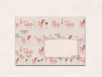 10 x Envelope TikiOno   Flamingo