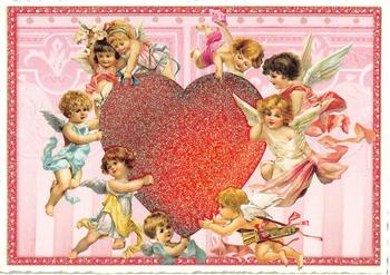 Postcard Edition Tausendschoen | Heart