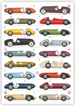 Postcard | Race Car
