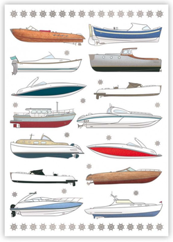 Postcard | Boats