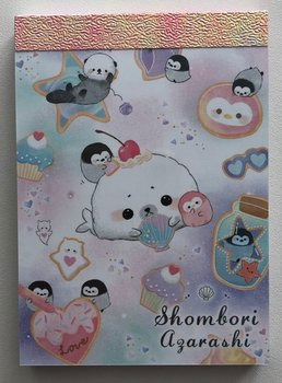 Crux Mini Memo Pad | Shombori Azarashi