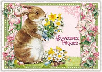 Postcard Edition Tausendschoen | Joyeuses Paques