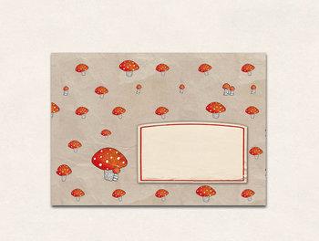 10 x Envelope TikiOno | Mushroom