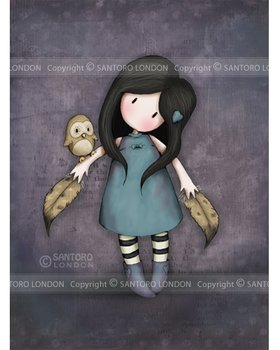 Santoro Gorjuss The Owl Greetings Card