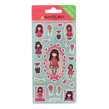 Gorjuss Stickers - Sugar and Spice
