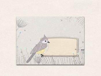10 x Envelope TikiOno | Crested Tit