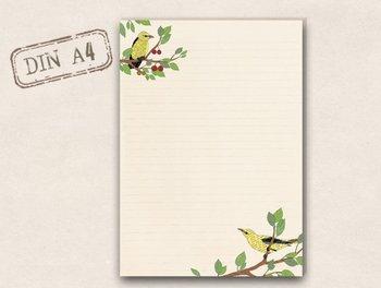 A4 Letter Paper Pad TikiOno | Oriole